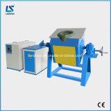 Fornalha de derretimento de aço certificada Ce da indução 18kg para a venda