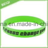 Wristbands bollati personalizzati alta qualità con il vostro proprio marchio
