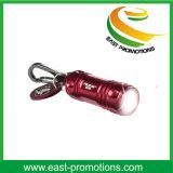 Corrente chave da lanterna LED com gancho de escalada