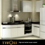 Kundenspezifische hölzerne Küche-Schrank-Ausgangsmöbel Tivo-042VW