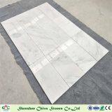 Laje grande de mármore branca oriental para telhas ou bancada