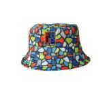 Chapéu colorido da cubeta do chapéu do presente do Natal do carnaval (U0037B/38B)