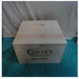 2013 Doos van de Wijn van de Selectie van Wijngaarden Caymus de Speciale Volledige Houten