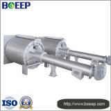 Curtidurías y máquina de cuero de la pantalla del tambor del tratamiento de aguas residuales