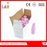 boquilla de cerámica 10n49 compatible para el soplete de TIG