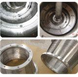 中国の工場価格のステンレス鋼の固体液体の連続的な排出の補助機関車の塩の遠心分離機