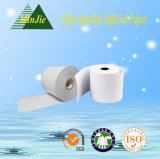 papel termal Rolls de la calidad de 57*45/57*47/57*50 Hight para la posición y el fax