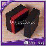 Rectángulos de regalo rígidos de la dimensión de una variable del cuello cuadrado del papel especial