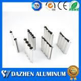 Camada de rolo única porta do obturador Extrusão de Alumínio perfil com anodizado