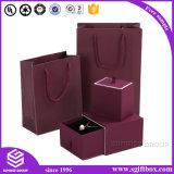 Handgemachter kundenspezifischer lederner verpackenschmucksache-Luxuxkasten