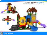 Equipamento plástico do campo de jogos da corrediça das crianças (YL24486)