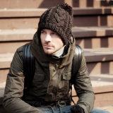 レディースメンズ男女兼用の球の帽子POMのPOMによって編まれる冬の暖かい帽子の厚い帽子(HW104)