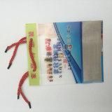 Rectángulo cosmético del cosmético del bolso del claro del recorrido promocional del PVC