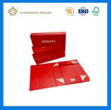 Rectángulo de regalo plegable auto magnético pila de discos plano de la cartulina con la impresión a todo color (fabricante de Guangzhou)