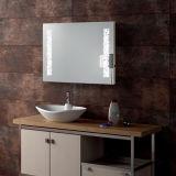 Cuarto de baño Fogless del hotel difícilmente - el LED atado con alambre encendió el espejo del montaje de la pared