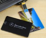 &#160 ; &#160 ; Lecteur flash USB par la carte de crédit de forme d'affaires en plastique promotionnelles pour Gift&#160 ;