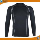 Fabrik-Mann-Sport-Shirt-lange Hülsen-Eignung-T-Shirts 2017