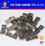 Segments de granit de diamant pour le coupage par blocs de bord