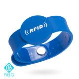 Tag ajustável da microplaqueta da identificação dos bens ISO14443A Ntag215 para a identificação
