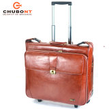 Chubont高いQuaility熱い販売法牛革スーツケース