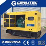 Type silencieux générateur de diesel de centrale de 50kVA Cummins