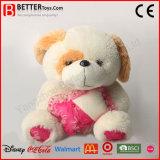 발렌타인 데이 부드러움 또는 견면 벨벳 또는 채워진 Aniaml 개 장난감