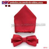 Decorazione di festa del regalo di natale del legame di arco del regalo di festa migliore (B8112)