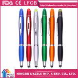 Crayons lecteurs de bille en plastique de la meilleure de Rollerball encre promotionnelle de crayon lecteur