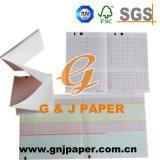 Papier de la pulpe EKG/ECG de Vierge en emballage de roulis