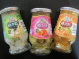 Remplissage automatique de fruits en conserve avec poids