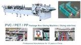 Автоматическая коробка PVC PP любимчика пластичная наклеивая машину