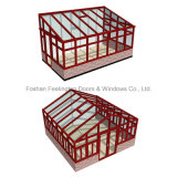 Feelingtop Custom Aluminum Sunroom Sunshine Hut para Villa (FT-S)