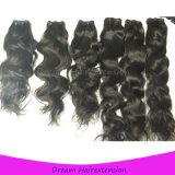 Чернотой высокого качества естественной может быть покрашенные волосы бразильянина волны девственницы Unprocessed естественные