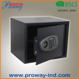 Cofre forte eletrônico de Digitas com indicador do LCD para o uso da HOME e do escritório, tamanho reais de pequeno a grande