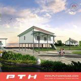 Huis van de Villa van het Staal van de Lage Kosten van de Vervaardiging van China het Modulaire Lichte