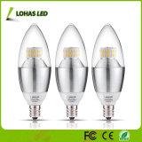 세륨 RoHS UL를 가진 가지가 달린 촛대 E12 E14 E27 3W 5W 6W LED 초 전구