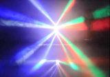 l'éclairage mobile DJ d'étape légère de faisceau de têtes de 4PCS DEL Party l'éclairage de mariage de disco