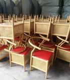 Stuhl-Wishbone-Stuhl des Garten-Y mit Zahnstange (JY-F49-2)