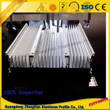 Perfil de aluminio industrial del perfil de aluminio multiusos del disipador de calor para la construcción Mahcinery