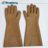 Gants isolants de main long en caoutchouc de sécurité du travail