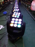 Projetor Popular 9PCS * 10W 3 * 3 Matrix LED Moving Head Light