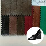 Модное синтетическое кожаный зерно Eel 2016 для ботинок женщин (HST260)