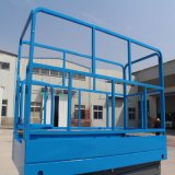 유압 공중 작업 플래트홈은 올리는 플래트홈을 가위로 자른다
