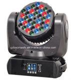 Lumière principale mobile de faisceau de 36 DEL