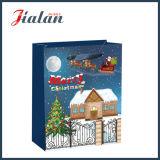 Персонализированный напечатанный таможней подарок покупкы бумаги рождества кладет в мешки оптом