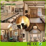 Luz de bulbo de la vela de los candelabros E12 E14 E27 3W 5W 6W LED con la UL de RoHS del Ce