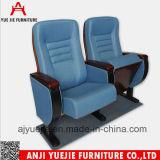 Пластичный стул Yj1206 конференции ткани Cupholder фикчированный задний