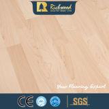 Plancher en bois stratifié résistant de l'eau de noix de la planche 12.3mm E0 HDF AC4 de vinyle