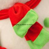 Giocattolo del pupazzo di neve della peluche, materiale da otturazione 100% del poliestere