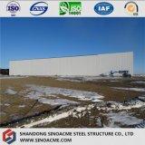 Taller de estructura de acero Peb con aislamiento de lana de fibra de vidrio